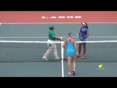 Conny Perrin vs Pranjala Yadlapalli in Lagos Open Final
