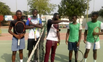 Nigeria claims Gold & Silver in AJC team event in Lome