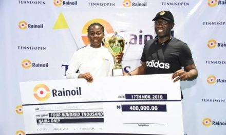 Blessing Samuel stuns Christie Agugbom to claim Rainoil Open title