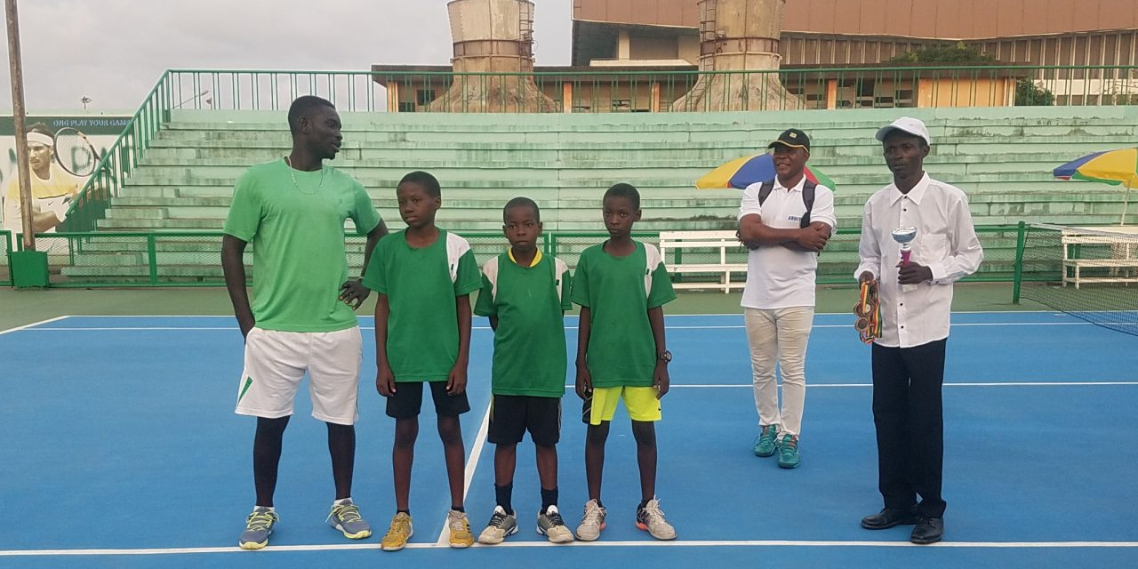 Pictures of the trophy presentation from the recently-concluded AJC Finals qualifiers in Cotonou