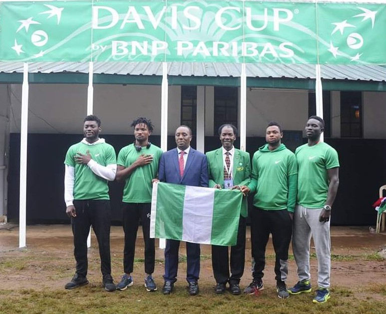 Nigeria set to battle other African countries for Davis Cup promotion in September
