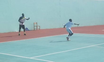 Pictures from Team Nigeria's 2-day training camp in Cotonou ahead of the AJC event
