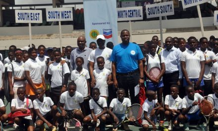 Chevron Junior Tennis Championship takes shape