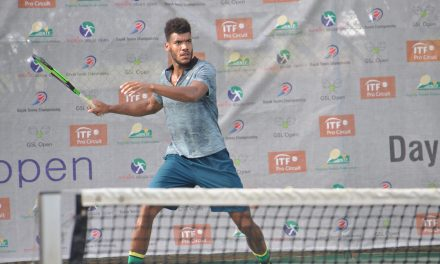 Dayak Tennis C'ships: Tom Jomby, Maximilian Neuchrist in contention for semi-final spots