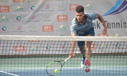 Dayak Tennis C'ships final preview: Tom Jomby and Danylo Kalenichenko square off for title