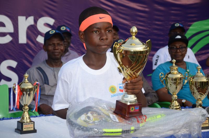 Seun Ogunsakin, Nene Yakubu emerge victorious at Chevron Junior Tennis Championship