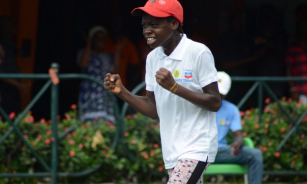 The 2019 Chevron Junior Tennis Championships in pictures