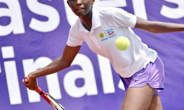 Action intensifies at the Chevron Junior Tennis Championship in Lagos