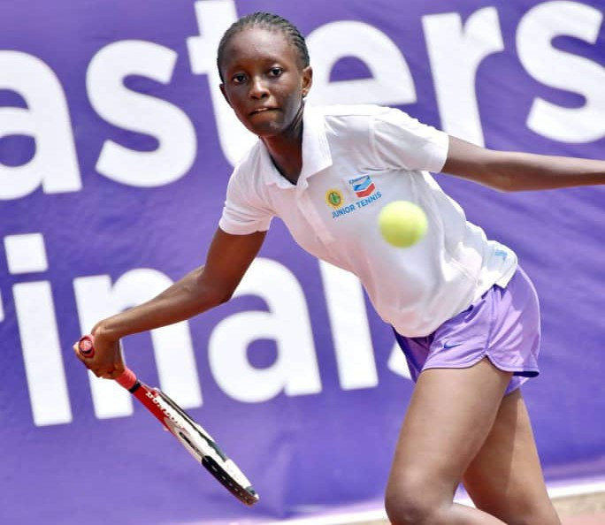 Action intensifies at the Chevron Junior Tennis Championship in Lagos