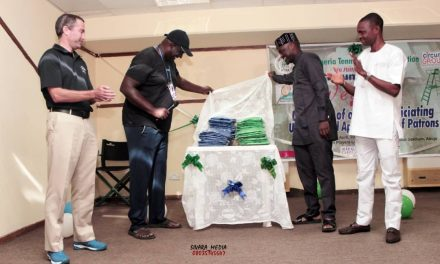 Nigeria Tennis Umpires Association unveils new officiating uniform