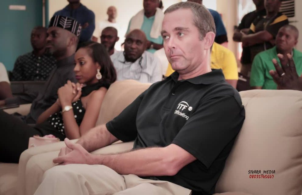 """""""It is a privilege working with the NTF,"""" Africa's Head of Officiating, Iain Smith says"""