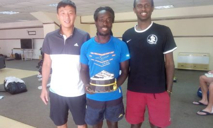 ITF World Tour: Darryl Hale celebrates 28th birthday in Abuja