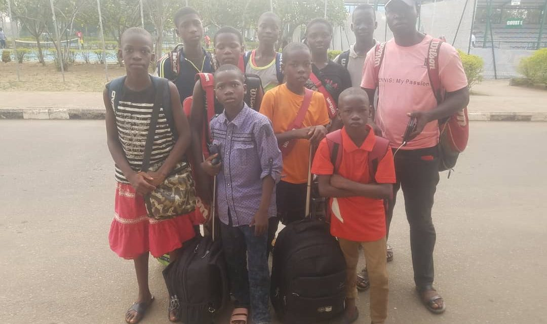 State teams arrive Abuja for Play Your Age Junior Tennis Championships