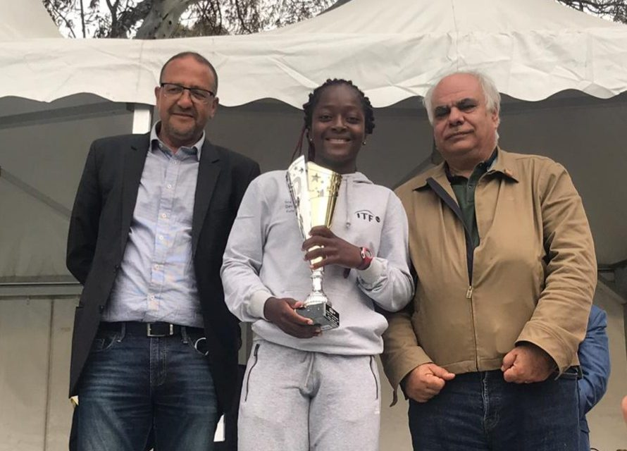 Sensational Quadre clinches ITF Junior Tennis Club de Megrine title in Tunisia