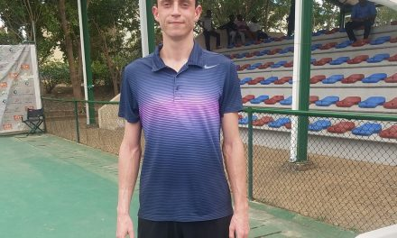 Dayak Tennis C'ships: Danylo Kalenichenko battles into second round in Abuja as Uche Oparaoji loses opener