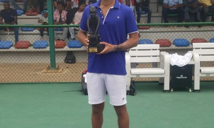 Brilliant Doumbia takes down Angele to lift Tombim Abuja Open title