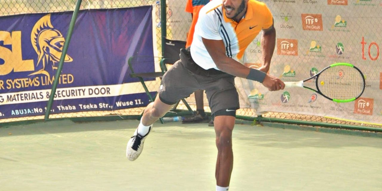 Dayak Tennis C'ships: Tom Jomby powers into final, to play Danylo Kalenichenko