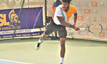 Dayak Tennis C'ships: Tom Jomby powers into final, to play Danylo Kalenichenko