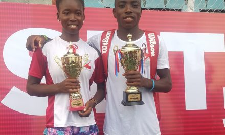 Musa Mohammed, Omolayo Bamidele emerge Zenith Bank 'Next Gen' Masters champions in Lagos