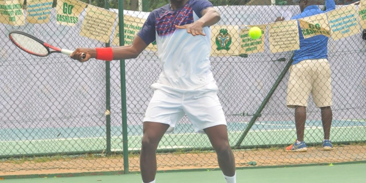 CBN Open: Top seed, Sylvester Emmanuel lays down early marker in Abuja