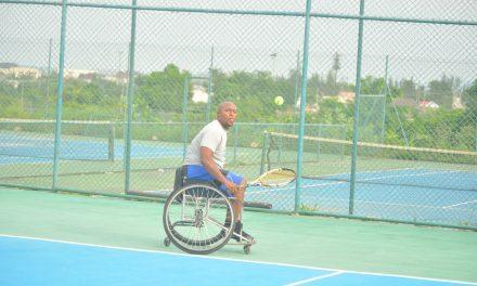 CBN Open: Wheelchair tennis action under way in Abuja