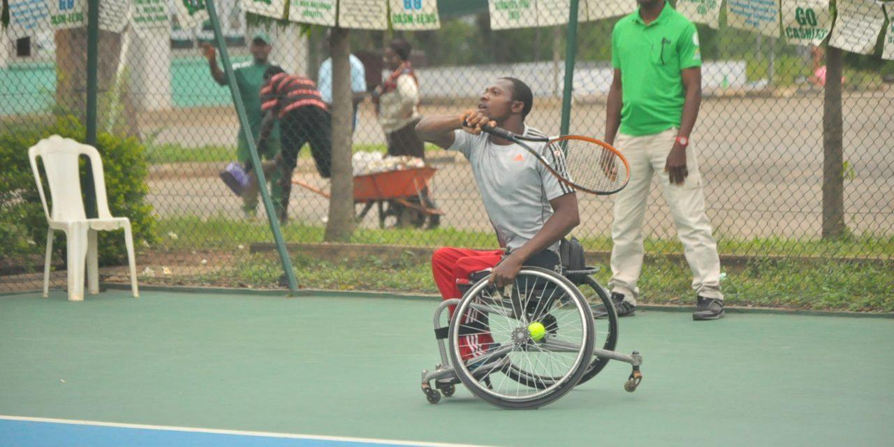 CBN Senior Open: Wheelchair tennis action under way in Abuja