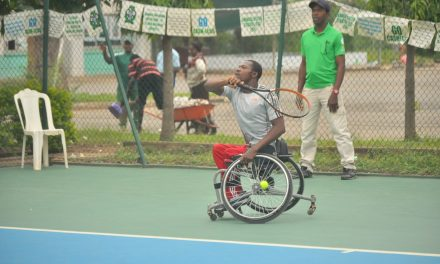 CBN Open: 6-time champion, Alex Adewale eases into wheelchair semis