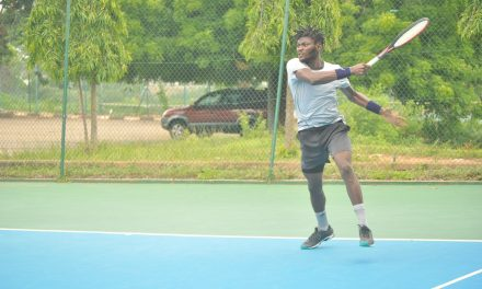 CBN Open: Defending champion, Emmanuel powers into quarter-finals
