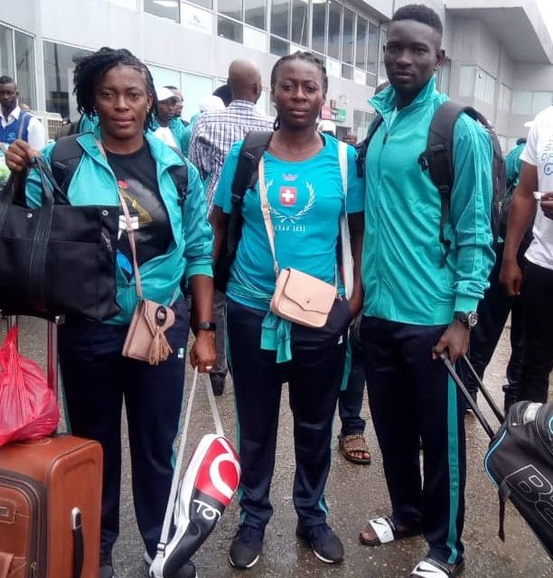 Sal 2019: Team Nigeria leaves for Cape Verde ahead of Africa Beach Games