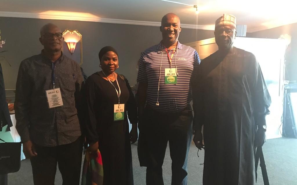 Pictures of Nigerian delegates at the CAT Annual General Meeting in Antananarivo