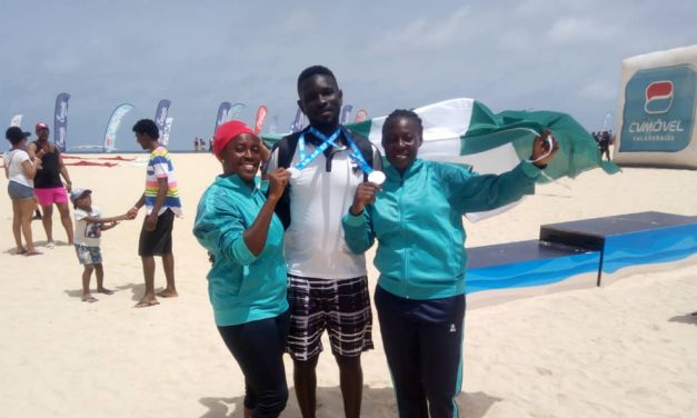 The Nigerian beach tennis team reflect on successful outing in Cape Verde