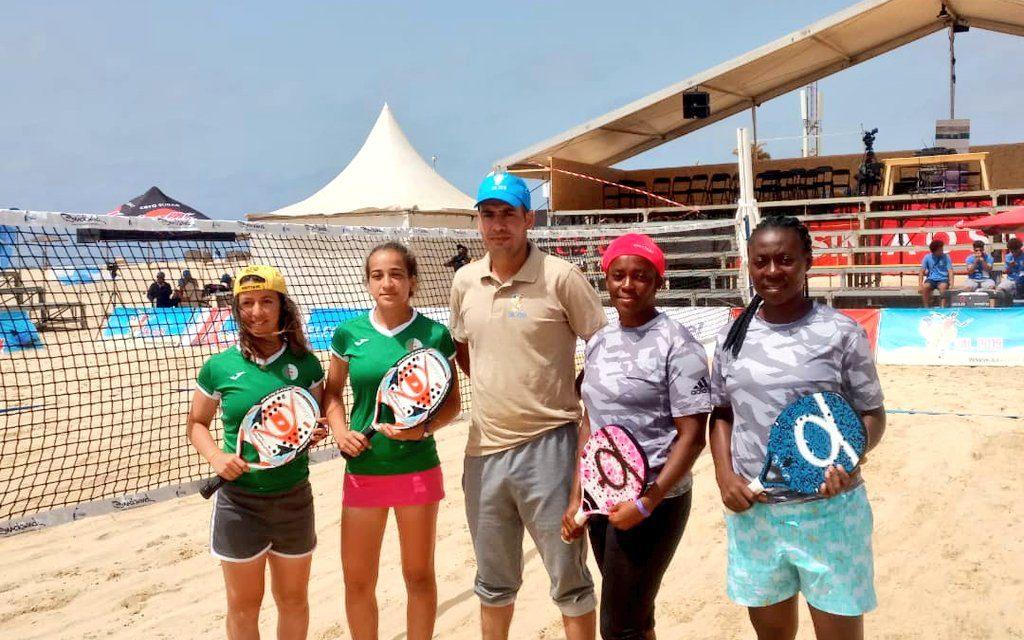 Beach Tennis: Team Nigeria claim Silver after final victory over Algeria in Sal