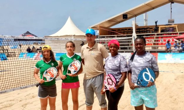 Beach Tennis: Team Nigeria claim Silver after final victory over Algeria in Sal