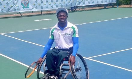 Alex Adewale, Kafayat Omisore emerge CBN Open wheelchair champions