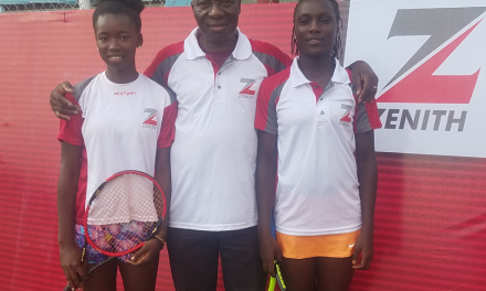 ITA Director, Godwin Kienka hopeful for a successful outing for junior players at the CBN Senior Open