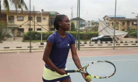 Teen phenom, Marylove Edwards regains composure to power into Kigali Junior Open quarter-final