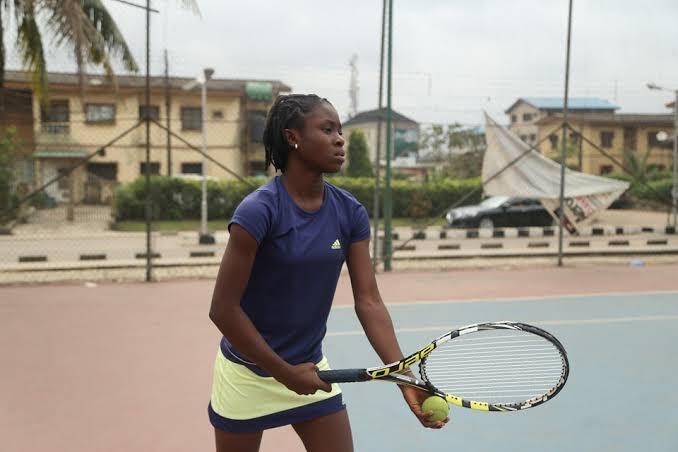 Teen phenom, Marylove Edwards regains composure to power into Kigali Junior Open quarter-final