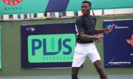 Impressive Philips advances to quarter-finals in Lome