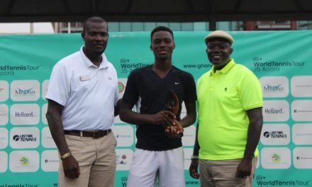 Superb Philips overcomes Vence N'tcha to claim GTFLifetime Athletic Open title in Accra