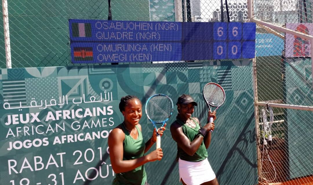 African Games: Flawless Quadre and Osabuohein thrash Kenyan pair to reach doubles semis