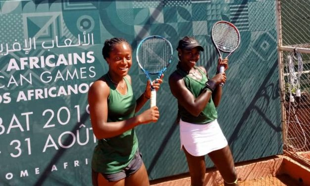African Games: Quadre & Osabuohein target doubles final