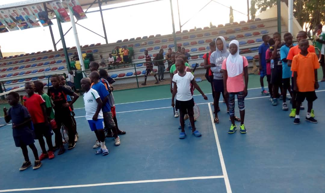 FCT Tennis Association grassroots tennis program continues development