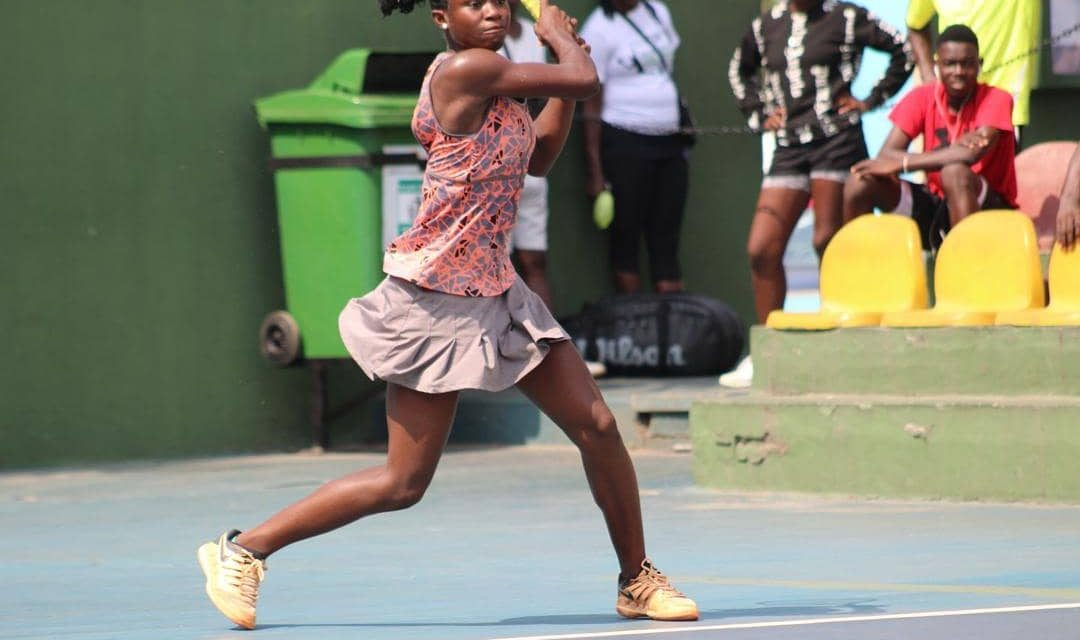 Marylove Edwards, Emmanuel Jebutu off to great starts as ITF Grade 4 event begins in Lome