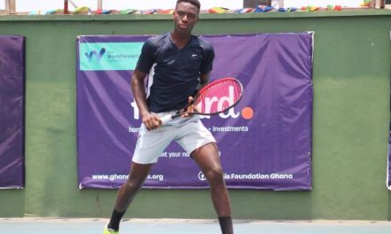 J4 Cotonou: Sensational Philips moves into singles final as Quadre claims doubles title