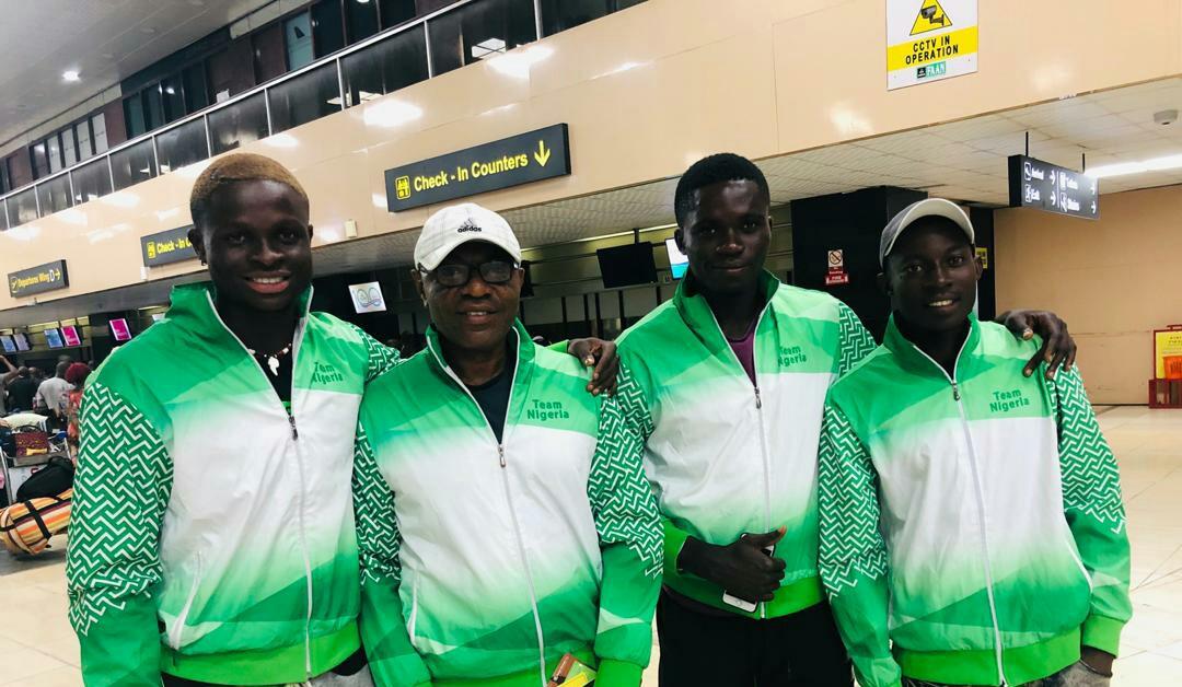 Team Nigeria arrive Nairobi ahead of 2019 Davis Cup campaign