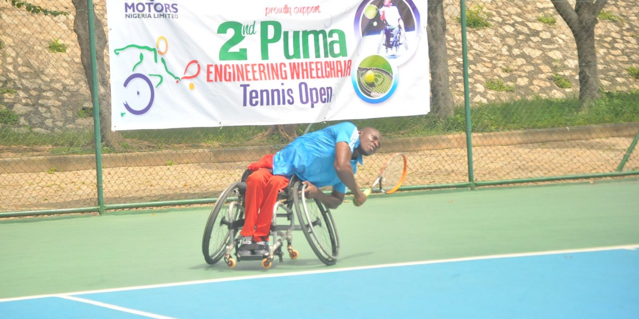 PUMA Wheelchair Open: Alex Adewale beats Temba to set up final showdown with Wasiu Yusuf