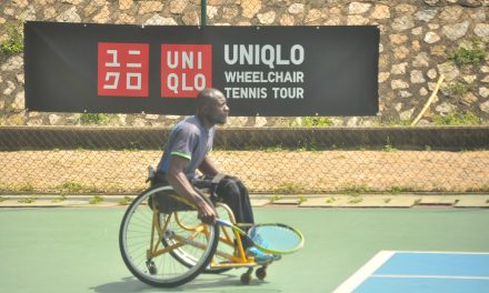 Adewale, Yusuf off to flying starts in PUMA Wheelchair opener