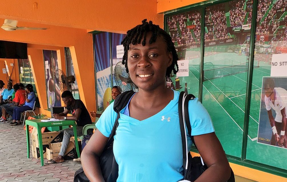 Lagos Open: Blessing Samuel, Sarah Adegoke clinch main draw spots
