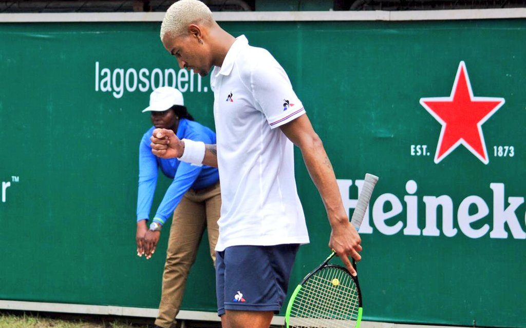 Lagos Open: Calvin Hemery continues to shine in Onikan