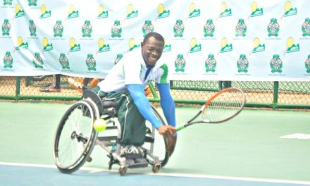 Nigerians headline first round action at PUMA Engineering Wheelchair Open